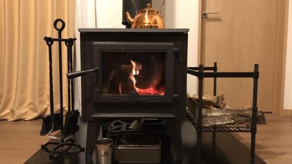 増井様邸に 「薪ストーブ トゥルーノース20」を設置させていただきました。